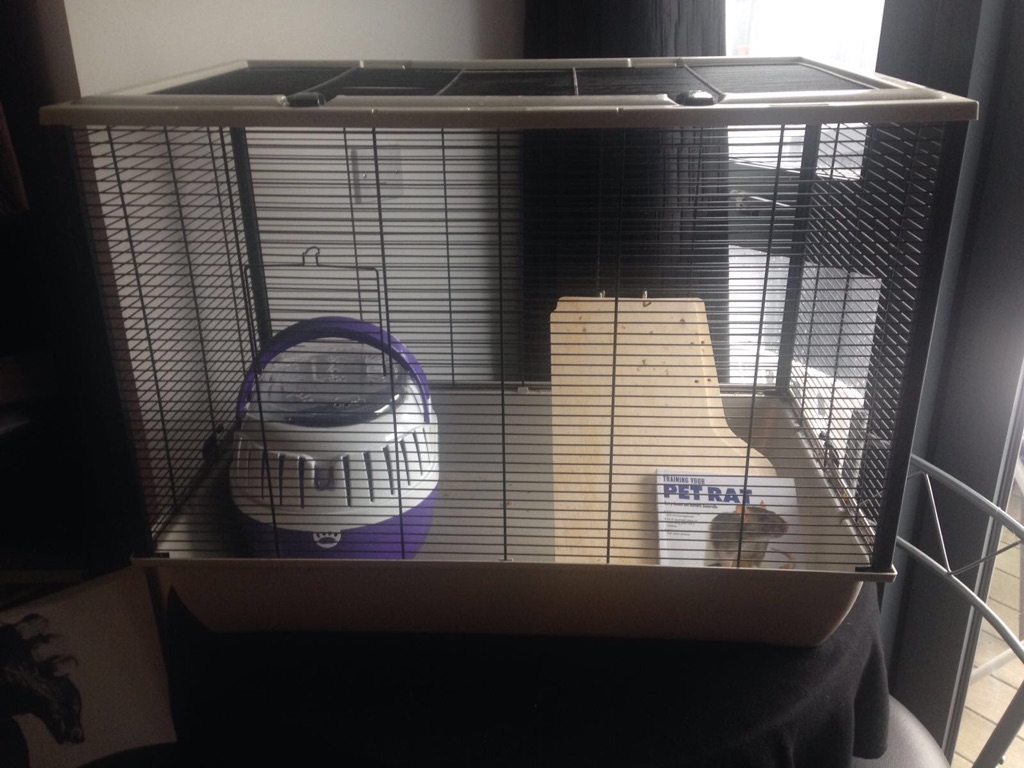 Rat/rodent/pet cage and carrier