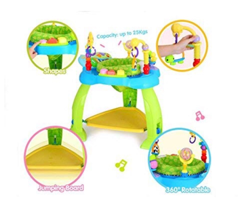 Activity center bounce-a-round