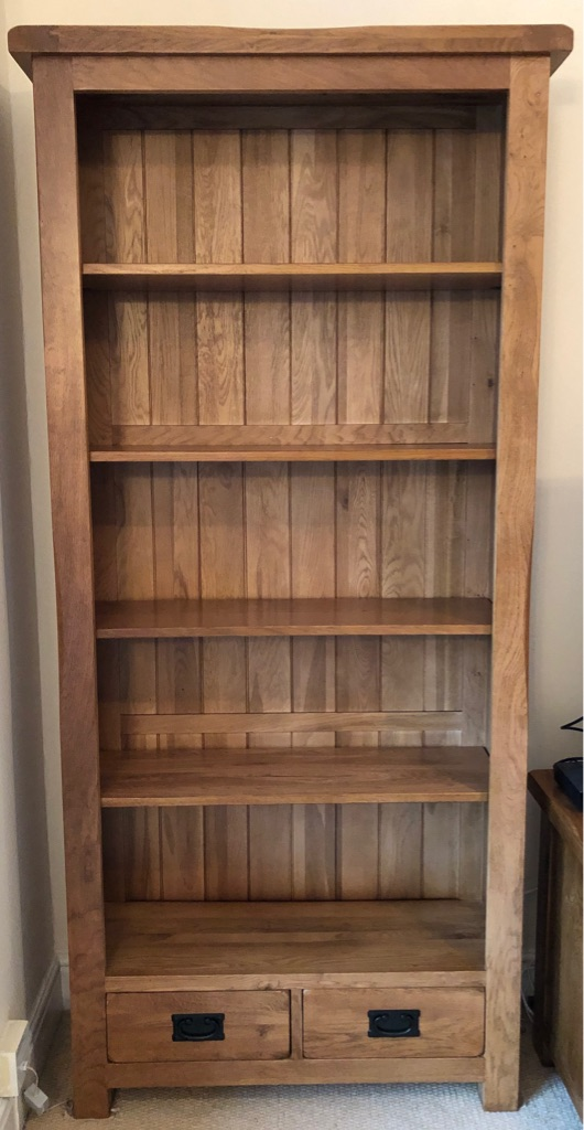 Oak Furniture Land Bookcase