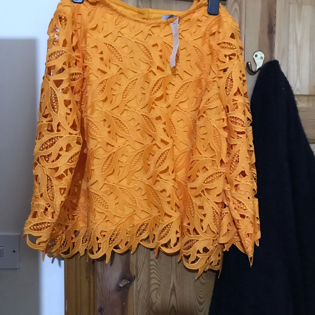 M and s lace top in mango BNWT for £45 size 20 never worn