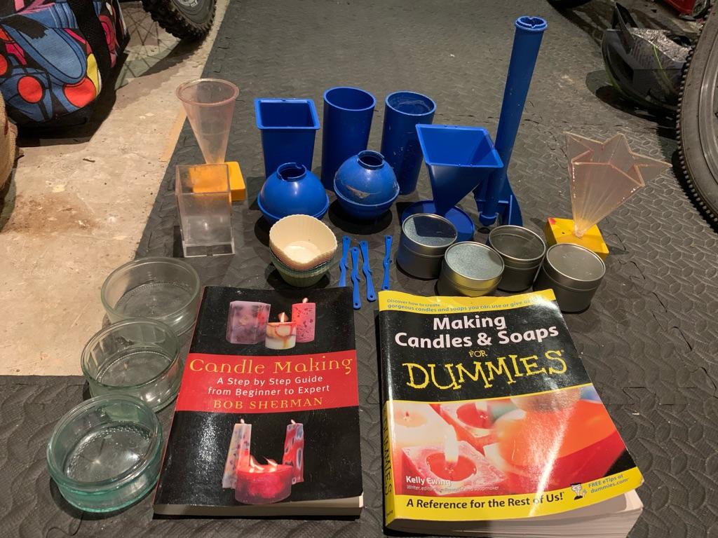 Candle making set