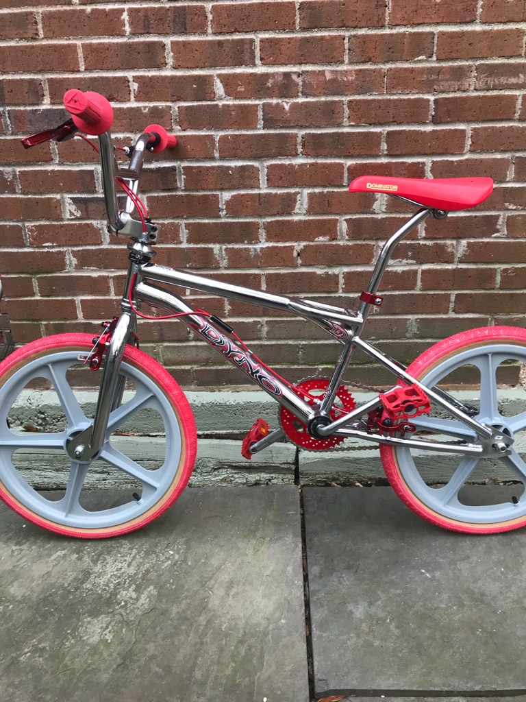 Dyno Compe [RED ALERT]: GT/Skyway/Haro/Redline/CW - BMX 80's FREESTYLE BIKE