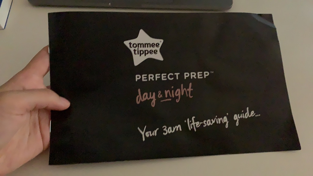 Tommee Tippee Perfect Prep Day & Night, black