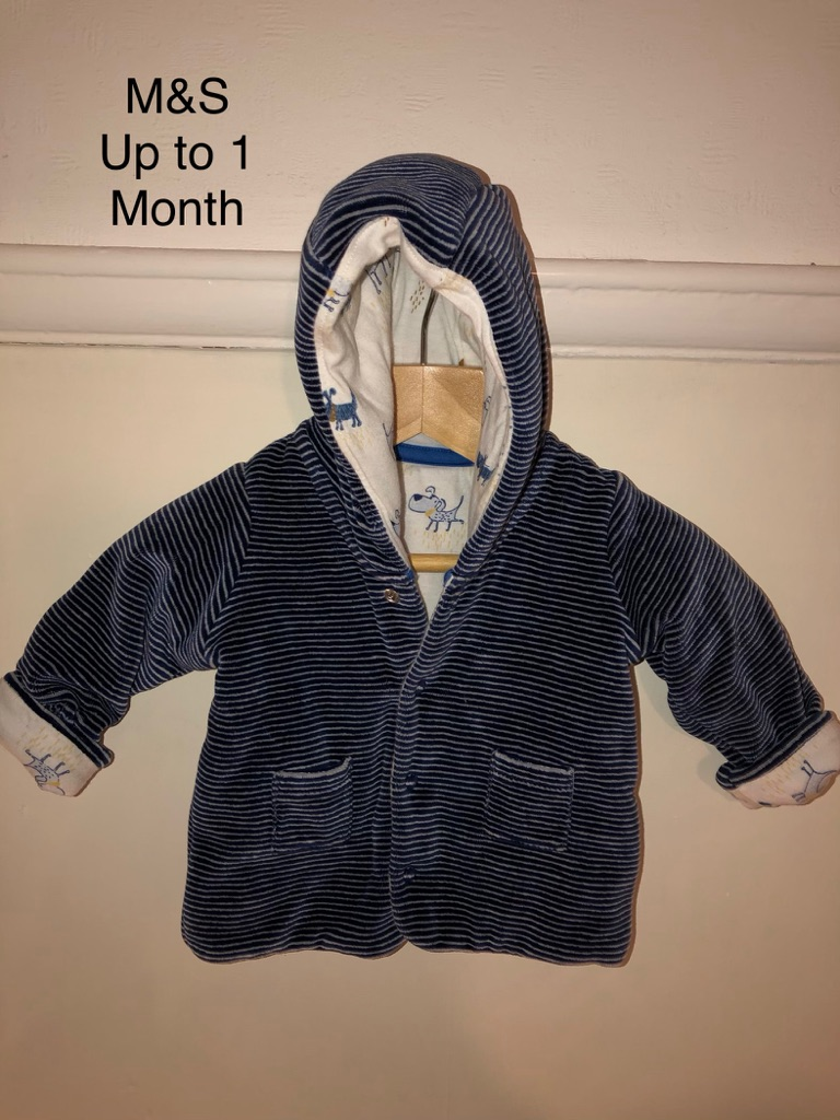 M&S Baby Jacket Age 1 month