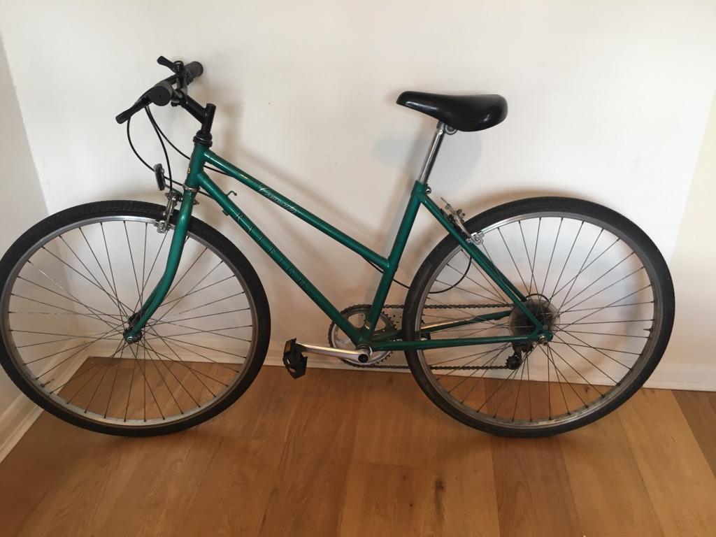 "Vintage Raleigh commuter 18"" bike"