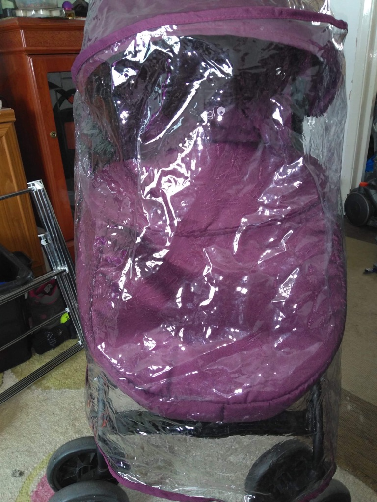 Purple cuggl buggy