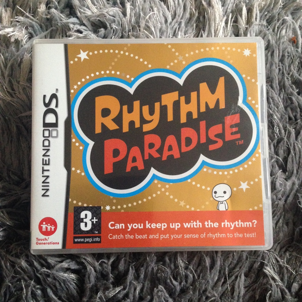 Rhythm Paradise DS Game
