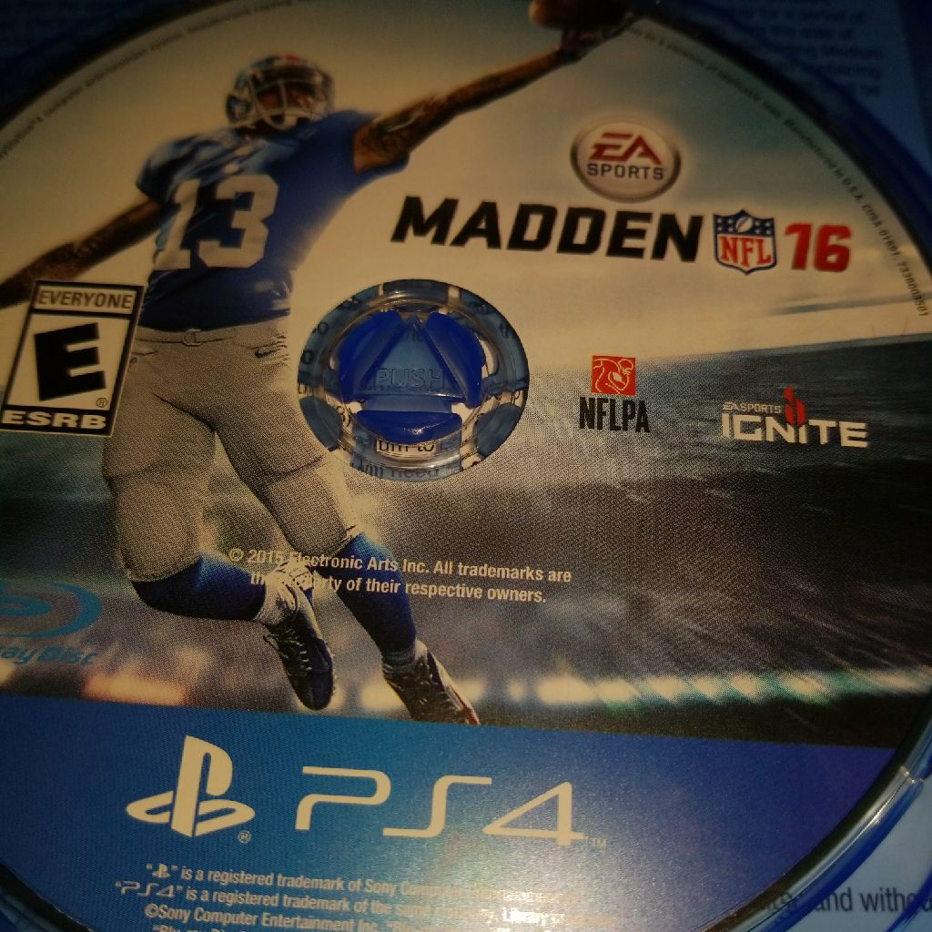Madden 16 game for ps4