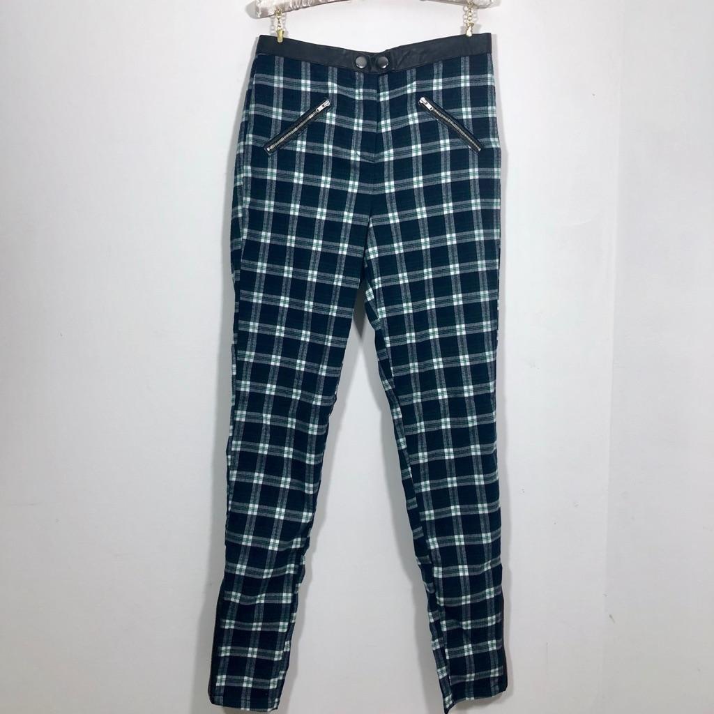 ASOS Tartan Trousers 8