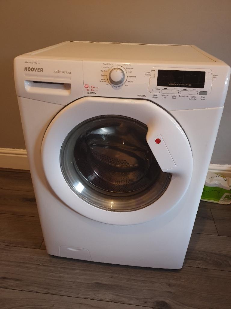 Washer/dryer 8.5kg
