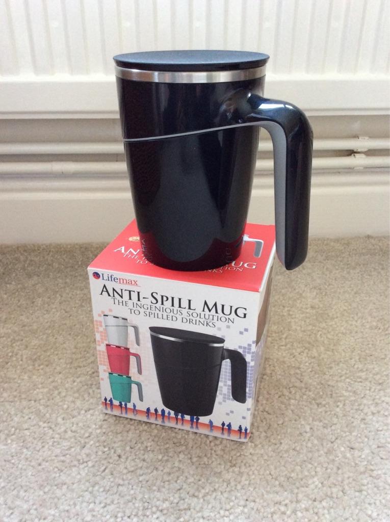 Anti-Spill Mug - New