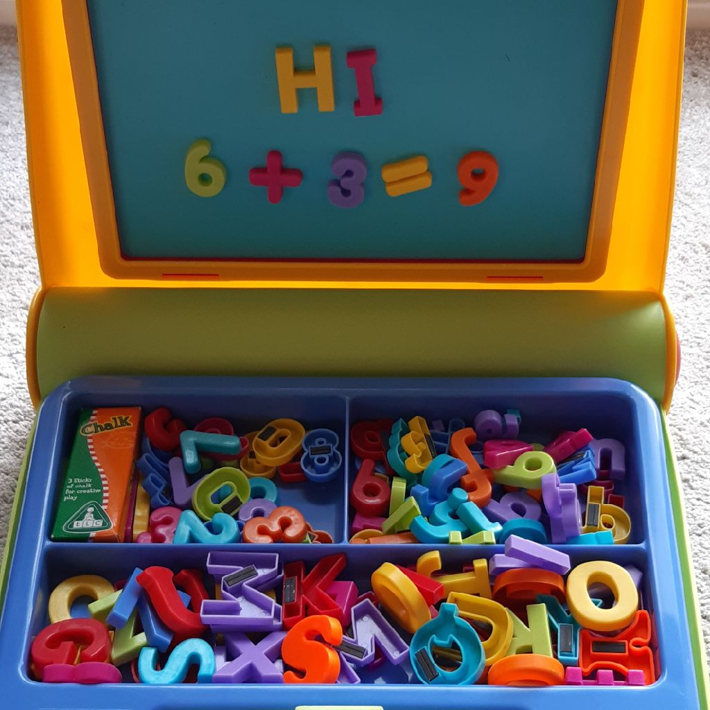 Magnetic Alphabet Set