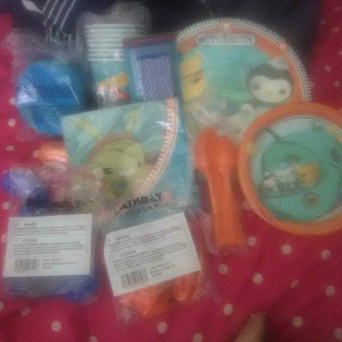 The octonauts party pack