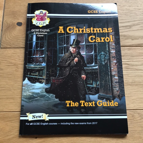 A CHRISTMAS CAROL TEXT GUIDE CGP