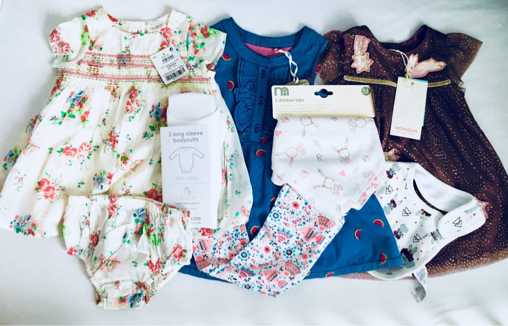 3-6 months baby girl bundle new