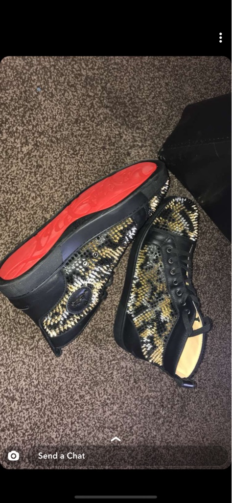 Christian Louboutin High Tops size 10