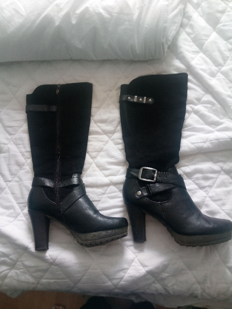 Designer tamaris designer knee high boots