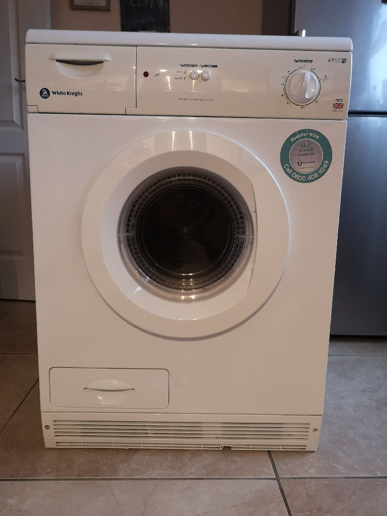 Condensing White Knight Tumble dryer