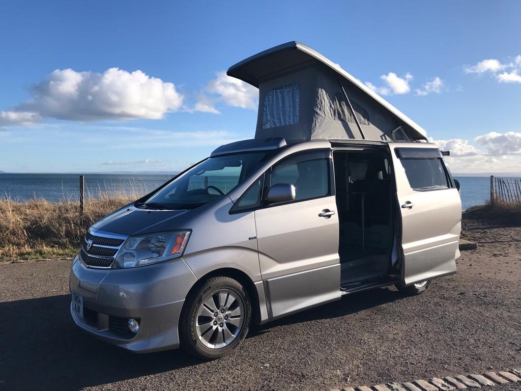 Toyota Alphard 2.4L Converted Campervan