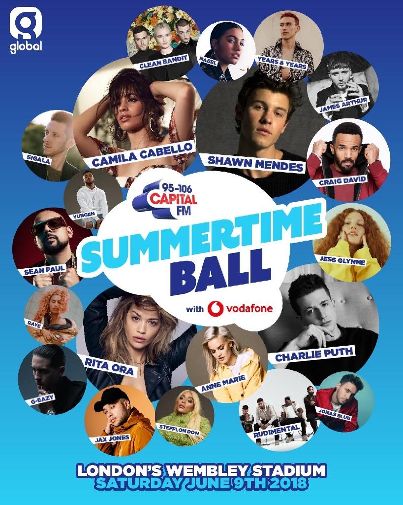 2 summertime ball tickets