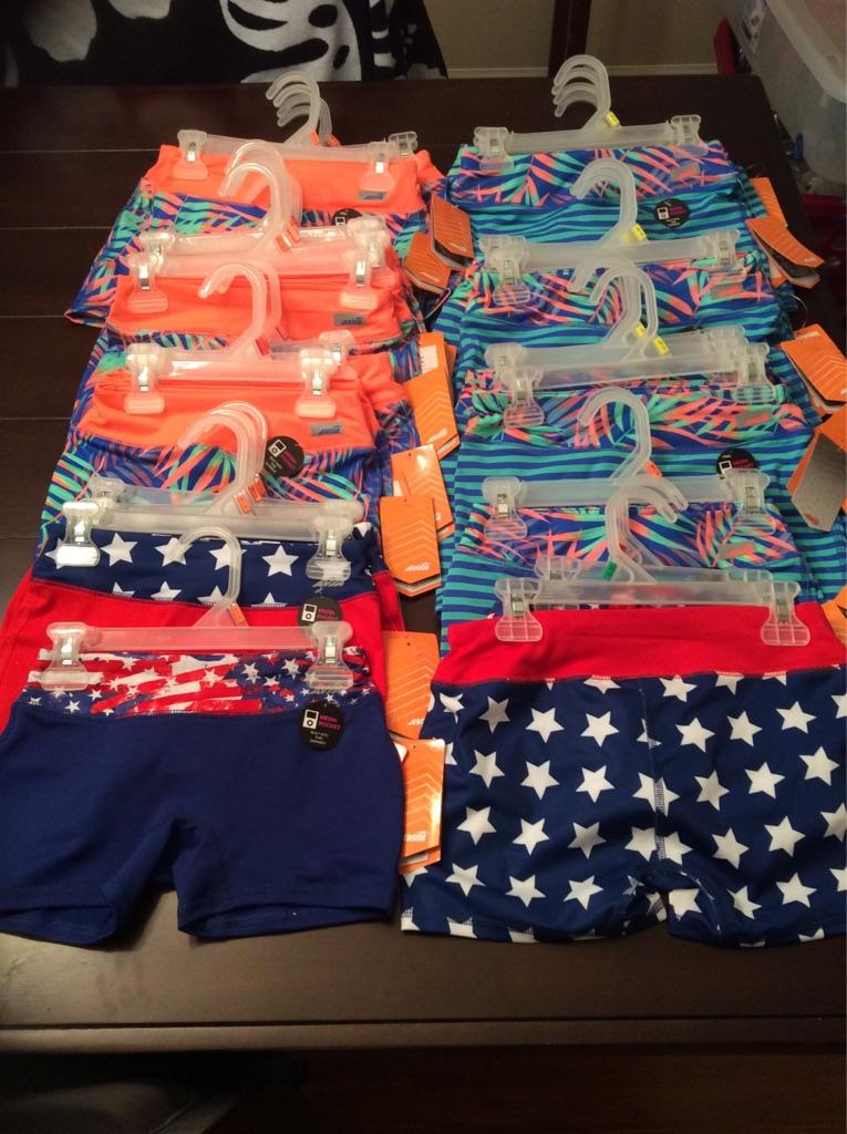 30 girls active shorts