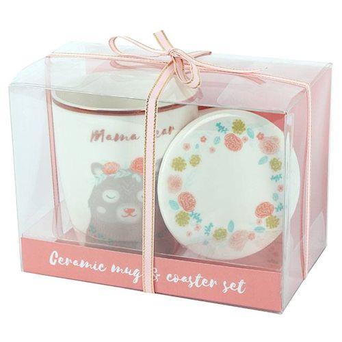Mama bear mug and coaster set