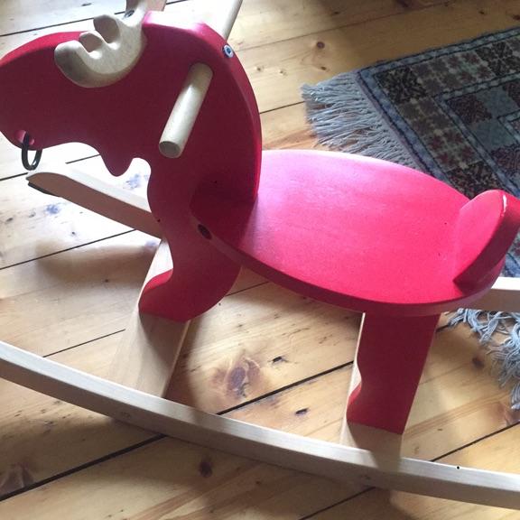 Ikea Baby Ekorre Rocking Moose