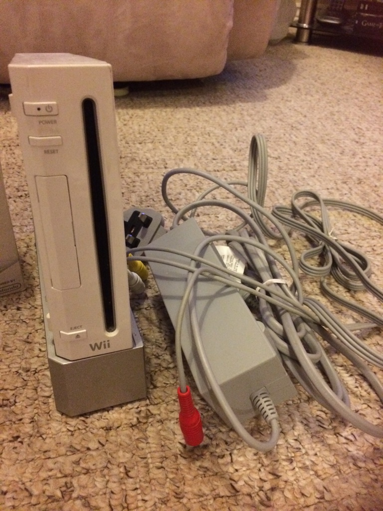 Wii console and Wii Game