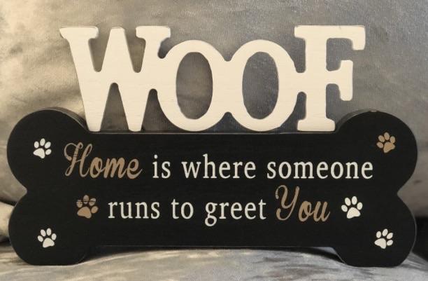 Doggie pals bone plaque