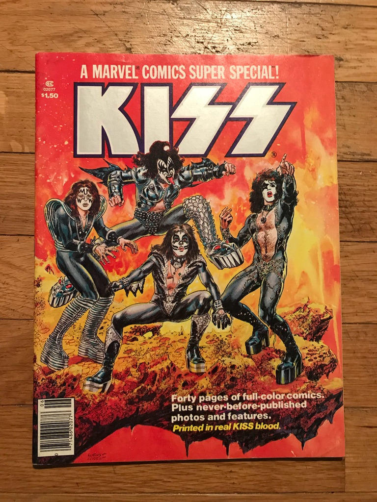 KISS 1977 Marvel Comics Super Special #1 Comic Book