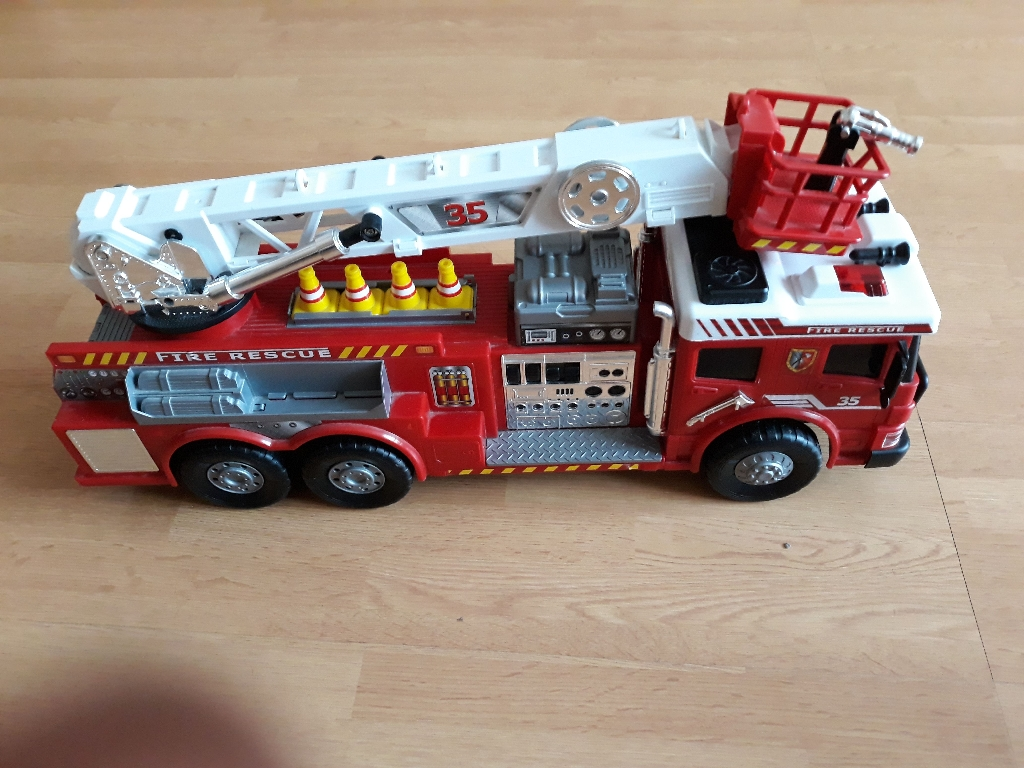 Fire engine Chad Valley