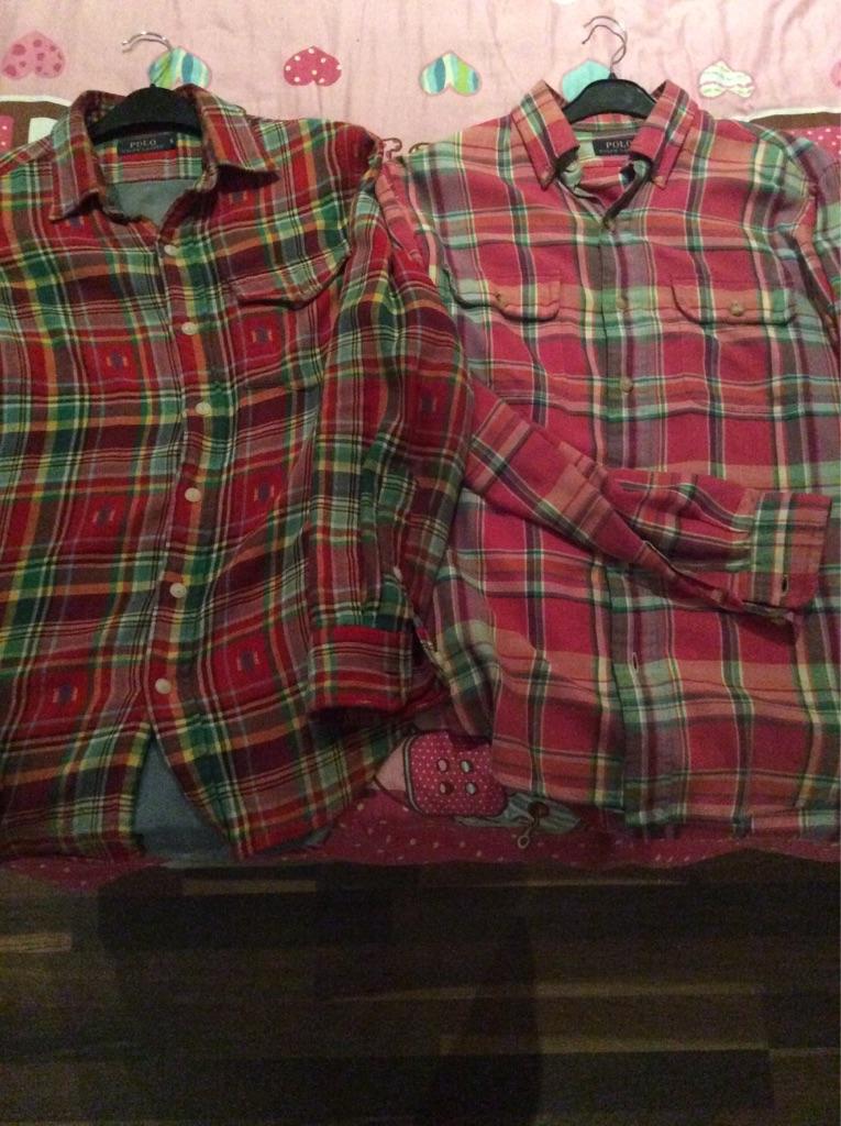 Ralph Lauren Custom Fit Shirts