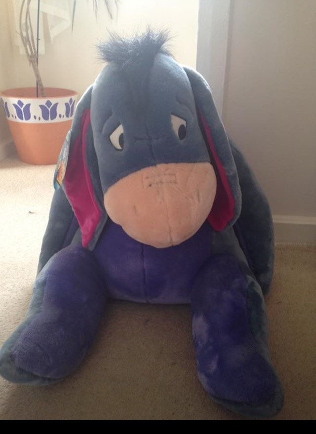 Huge/Big Disney Eeyore Teddy