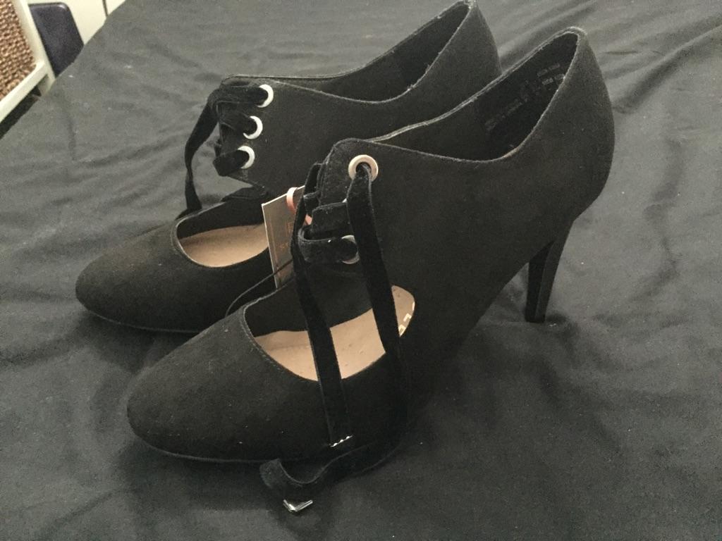 Black Stilettos F&F Size 7