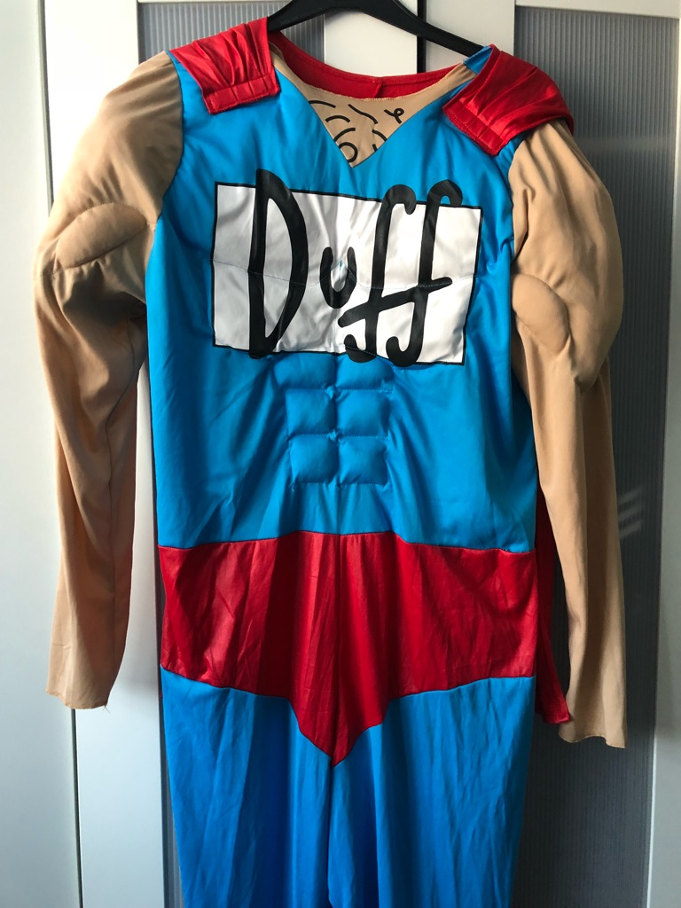 The Simpsons - Duffman Costume (XL)