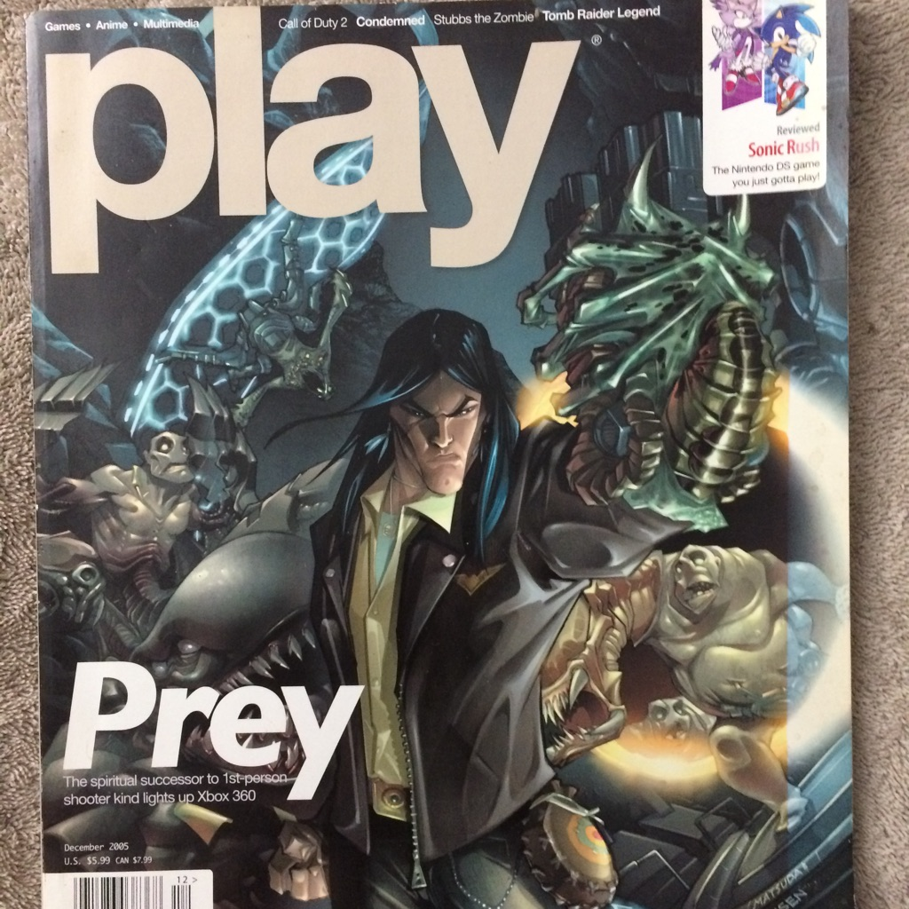 Play Magazine (Prey)