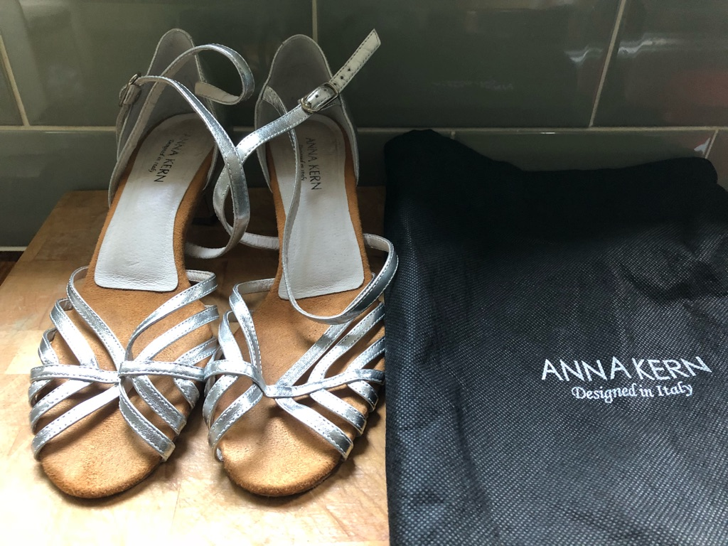 Anna Kern Dance shoes two pairs size 6.5