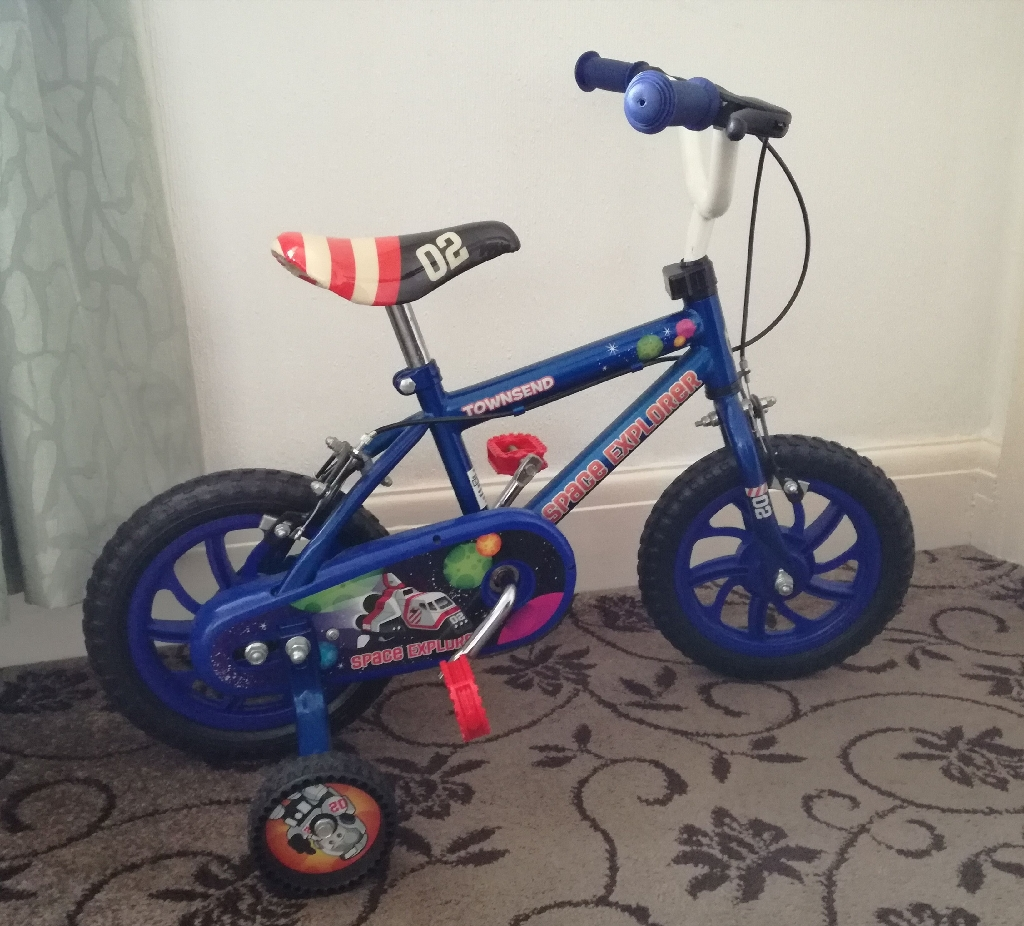"Townsend Space Explorer boy's 12"" Bike"
