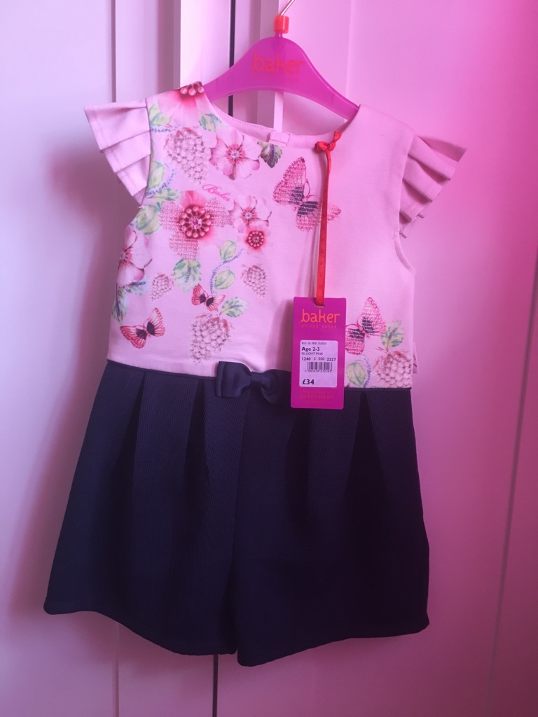 Ted baker 2-3 playsuit