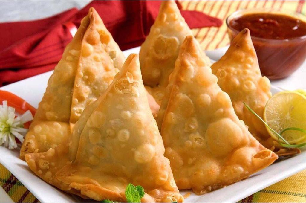 Fresh homemade Indian food