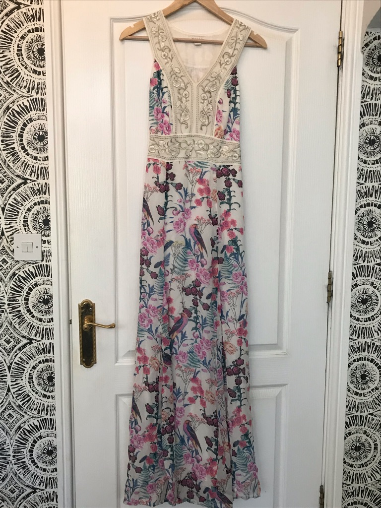 Monsoon dress . Worn once