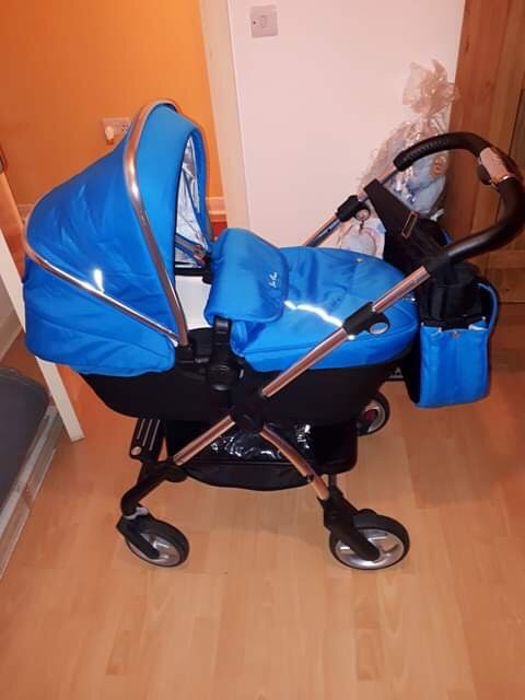 Silver cross wayfarer pram/push chair