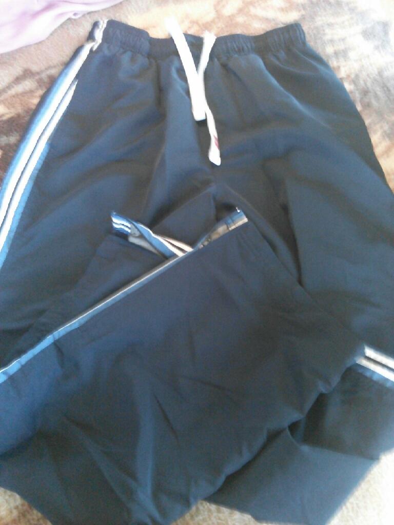 Reebox med. & Nike Lg. windsuit pants