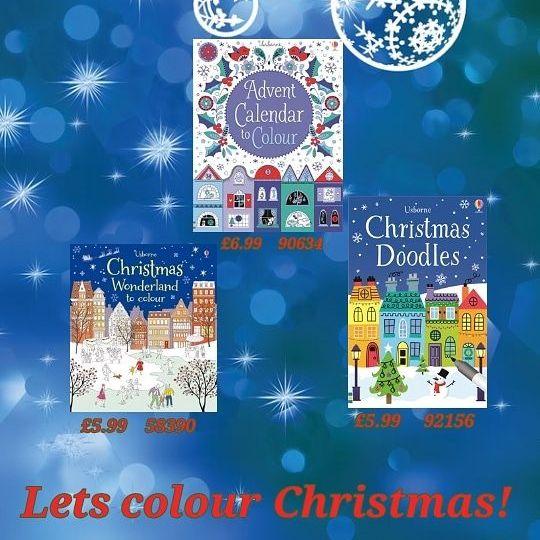 Christmas Colouring books