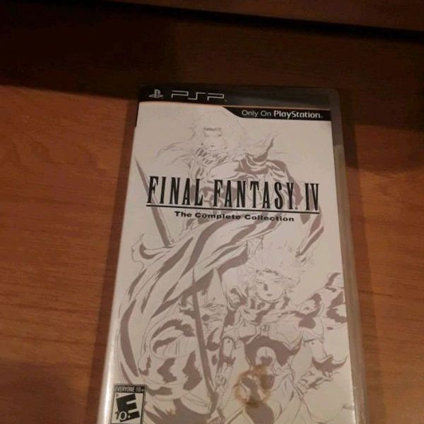 Final Fantasy 4: The Complete Collection (PSP)