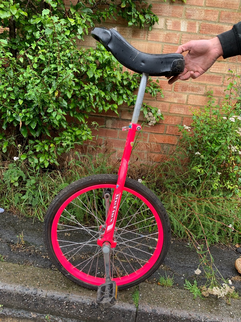Unicycle xrated bmx and mountain bike