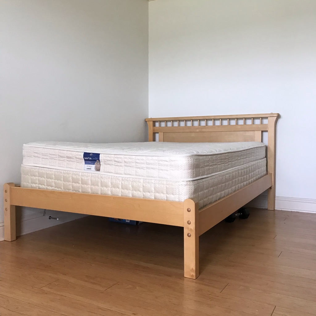 Full Bed with Mattress Set