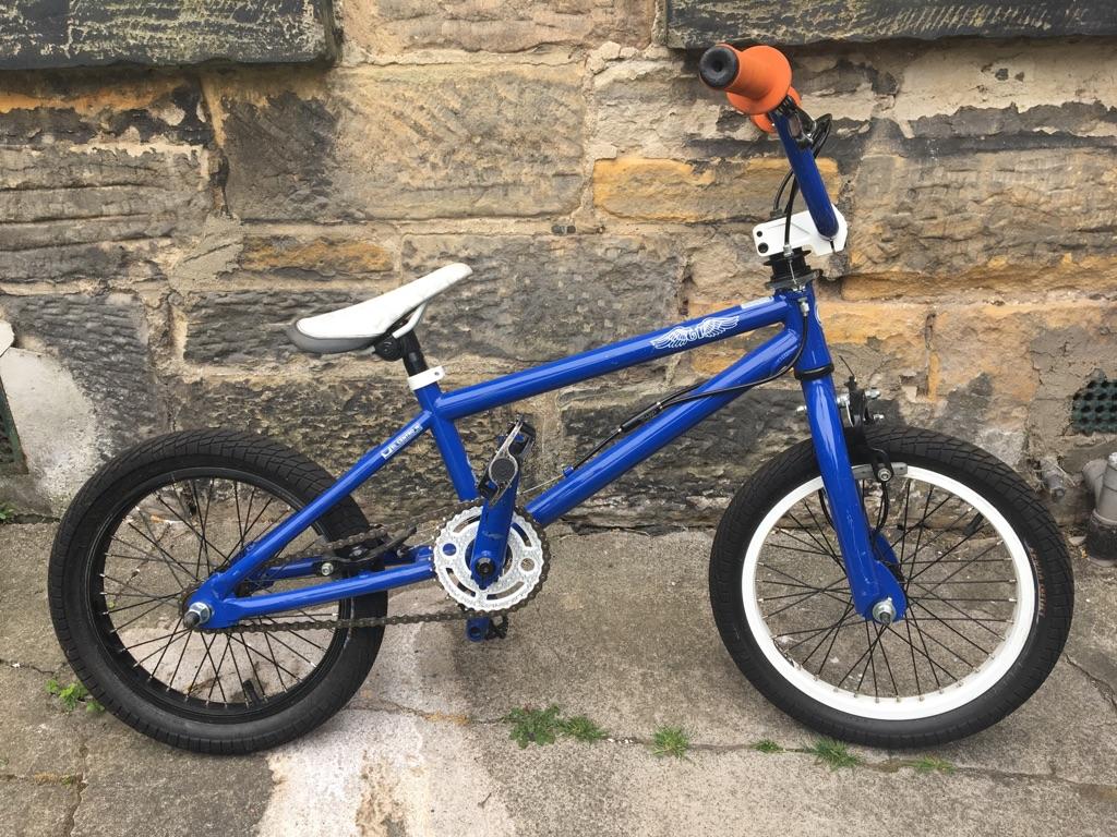 BLUE BMX KIDS BIKE