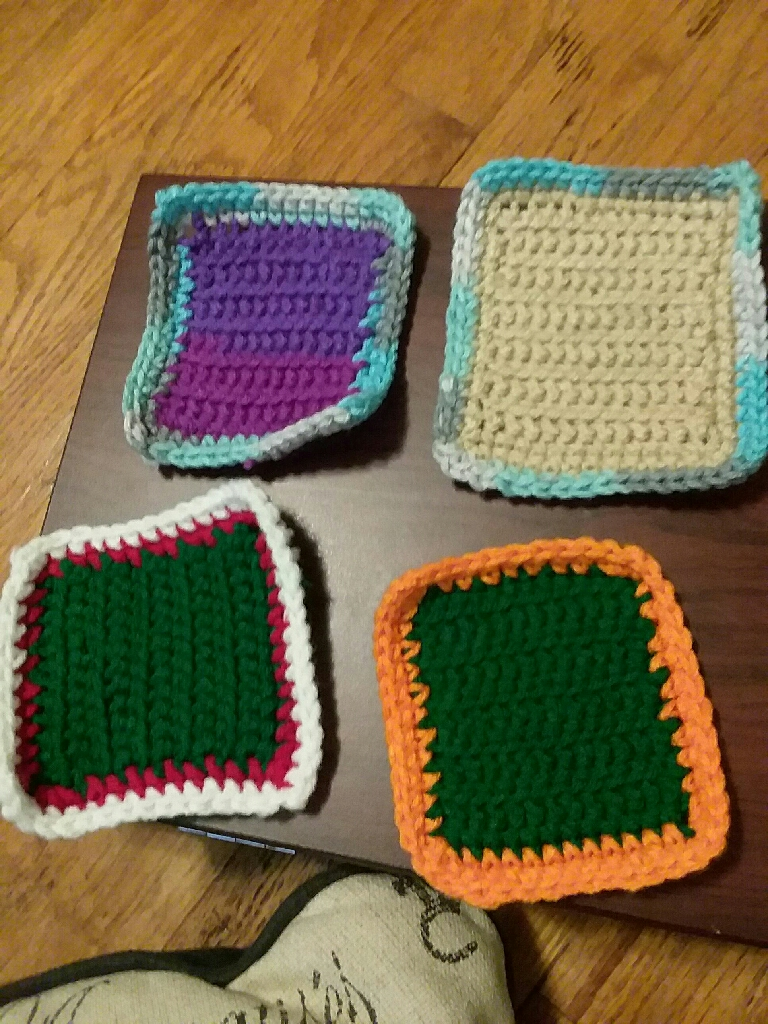 Handmade Crochet Coasters