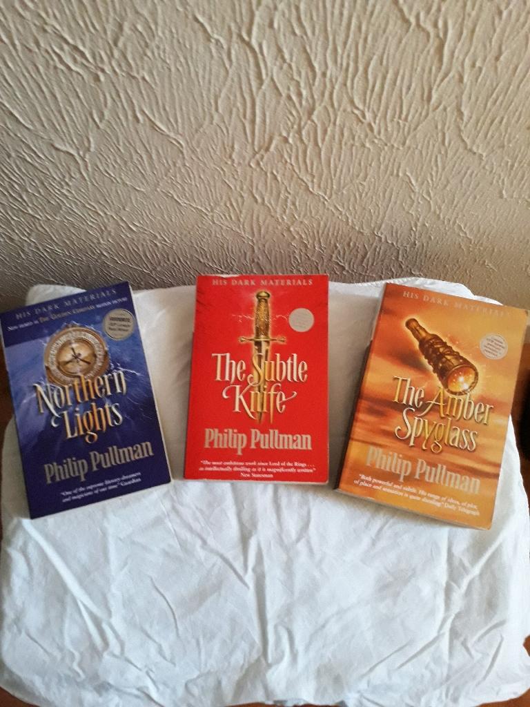 3 Philip Pullman books